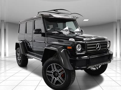 The Mercedes G-Class luxury