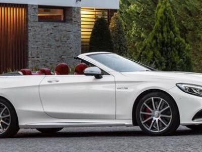 Mercedes AMG S63 Cabriolet